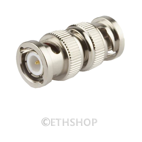 Security Camera Cables And Connectors : Bnc cctv coaxial coax crimp security video camera joiner
