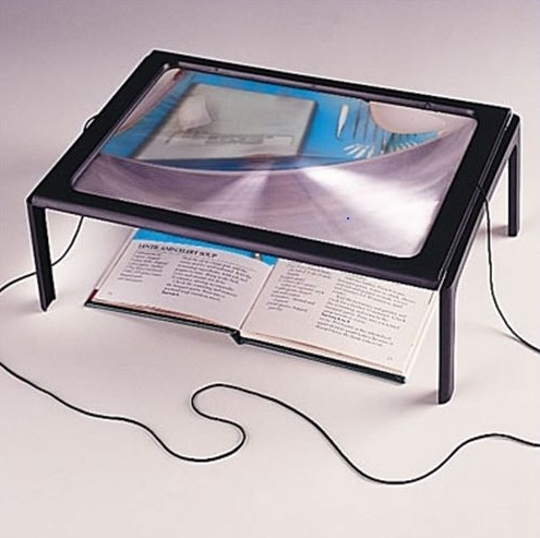 free magnifying glass with led light for reading aid magnifier ebay. Black Bedroom Furniture Sets. Home Design Ideas