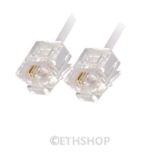 RJ11-DSL-ADSL-Phone-Broadband-Cable-Lead-2M-3M-5M-8M-10M-12M-15M-20M-23M-25M-30M